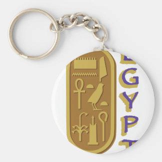 Ägypten Standard Runder Schlüsselanhänger