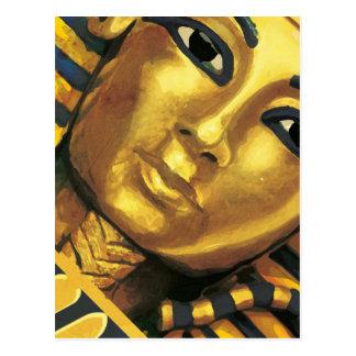 Ägypten - Tutankhamun Postkarte