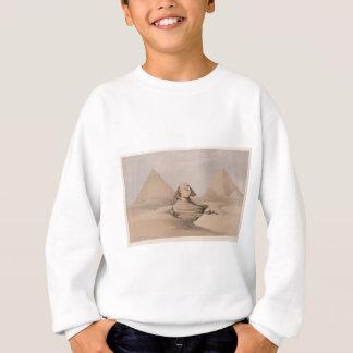 Ägyptische Kultur-Götter, Hyroglifcs, Sphynx Sweatshirt