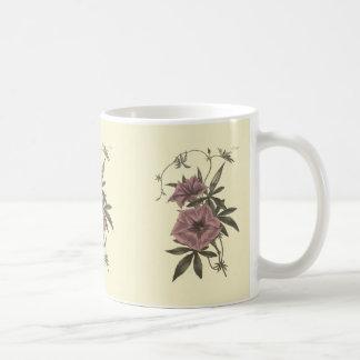 Ägyptische Winden-botanische Illustration Kaffeetasse