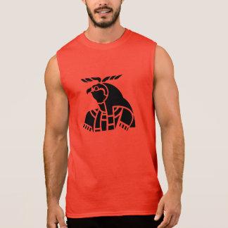 Ägyptisches Falke-T-Stück Horaz Ärmelloses Shirt