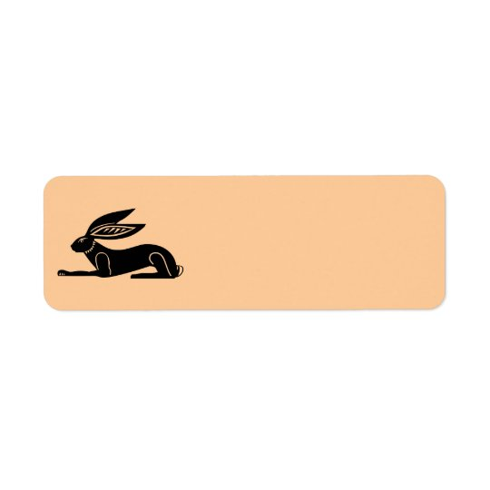 Ägyptisches Kaninchen Kleiner Adressaufkleber