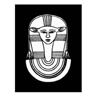 Ägyptisches Symbol: Hathor Postkarten
