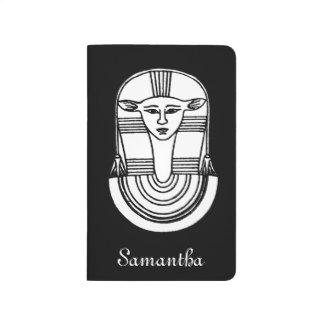 Ägyptisches Symbol: Hathor Taschennotizbuch