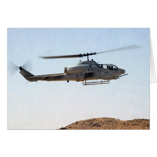 AH-1W Superkobra Grußkarte