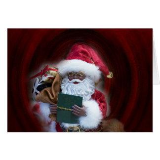 Ah, Sankt-Weihnachtskarte Karte