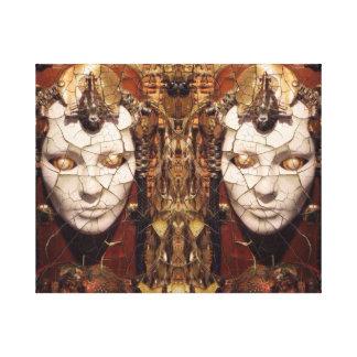 Aharons Kunst Leinwanddruck