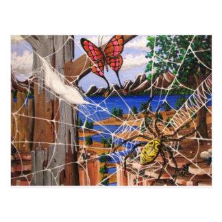 Aharons Kunst Postkarte