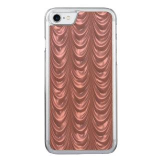 Ähnelt luxuriösen Marsala mit Rüschen besetzten Carved iPhone 8/7 Hülle