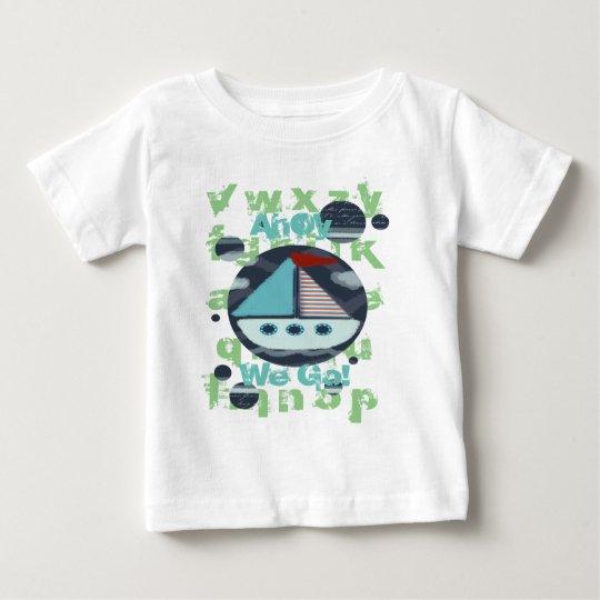ahoi gehen wir Jungen-T - Shirt
