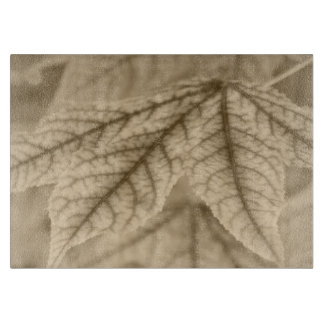 Ahornblatt-Ader-Muster Schneidebrett