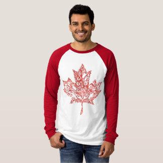 Ahornblatt-Ahornbaum T-Shirt