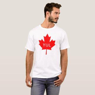 Ahornblatt - Montreal-Flughafen-Code T-Shirt