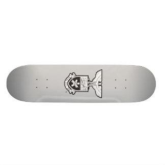 AHP Wappen - B&W 20,1 Cm Skateboard Deck