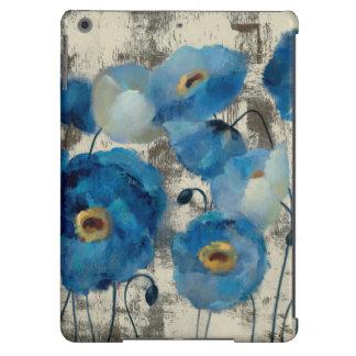 Aigue-marine florale coque iPad air
