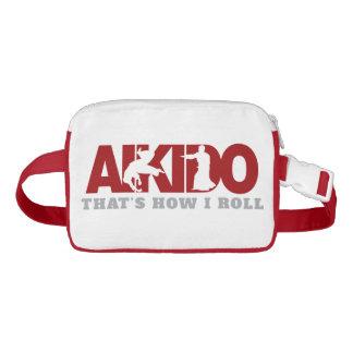 Aikido, der ist, wie ich rolle gürteltasche