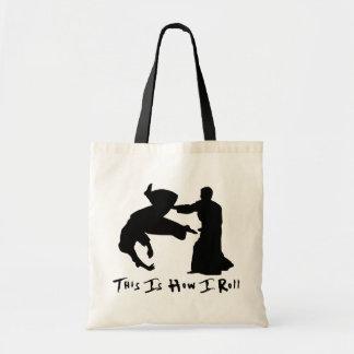 Aikido dieses ist, wie ich rolle tragetasche