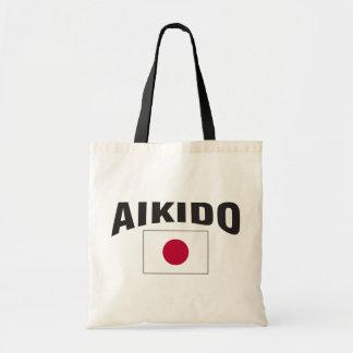 Aikido-Japan-Flagge Tragetasche