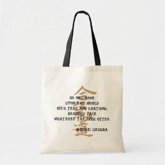 Aikido-Zitat Tragetasche