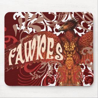 Ailes de diffusion de Fawkes Tapis De Souris