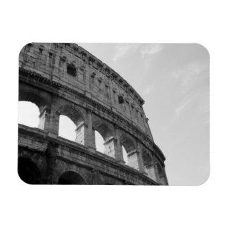 Aimant à fond gris de Colosseum Magnets En Vinyle