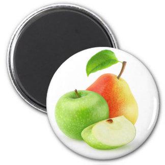 Aimant Apple et poire