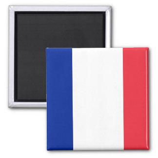 Aimant avec le drapeau de la France