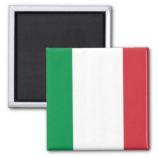 Aimant avec le drapeau de l'Italie