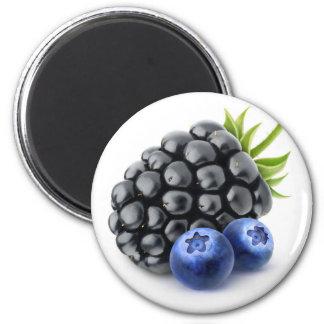 Aimant Blackberry et myrtilles