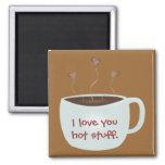 Aimant d'amour de café