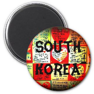 Aimant de cercle de la Corée du Sud