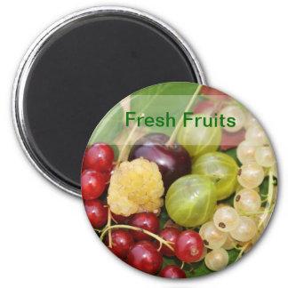 aimant de fruits frais