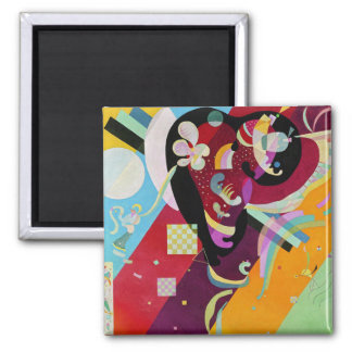 Aimant de la composition IX en Kandinsky