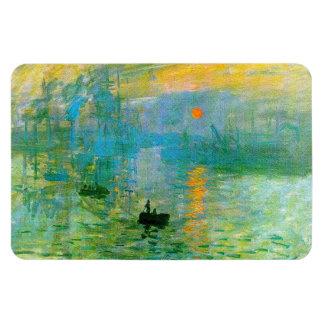 Aimant de lever de soleil d'impressionisme de Mone Magnets