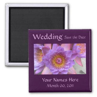 Aimant de mariage de fleur de Lotus