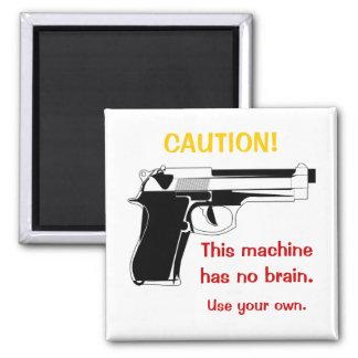 Aimant de précaution d'arme à feu