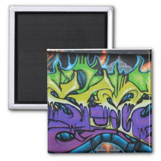 Aimant de réfrigérateur de graffiti
