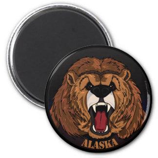 Aimant d'ours gris de l'Alaska