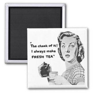Aimant frais de cuisine de thé (la publicité