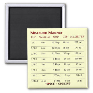 Aimant frais de mesure !