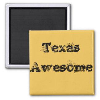 Aimant impressionnant frais de citation du Texas