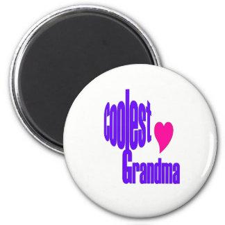 Aimant L'aimant de grand-maman le plus frais