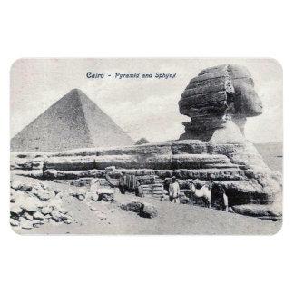Aimant - le Caire, pyramide et sphinx Magnets Souples