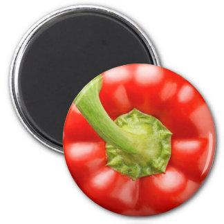Aimant Paprika rouge
