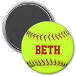 Aimant personnalisé du base-ball