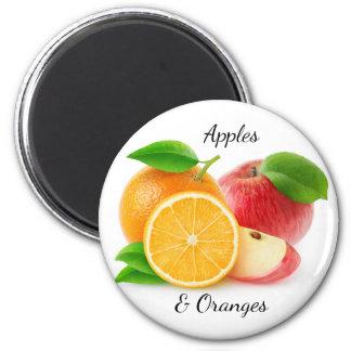 Aimant Pommes et oranges