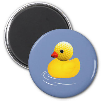 Aimant Yellow rubber duck