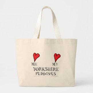 aimez-moi amour mes puddings de Yorkshire, Sac En Toile Jumbo