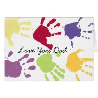 Aimez-vous carte de fête des pères de papa