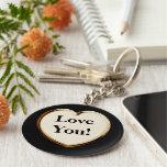 Aimez-vous ! Sur le coeur Keychain